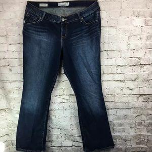 Torrid Relaxed Boot Denim Jeans Dark Wash Women 16